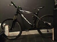 Giant full suspension bike