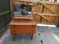 schreiber dressing table retro vintage