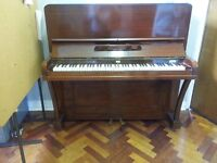 Upright piano in need of repair and tuning. FREE to collect