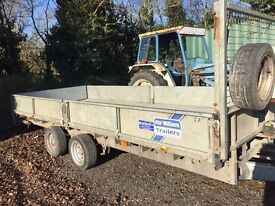 CAR TRAILER IFOR-WILLIAMS ** TOP OF THE RANGE **