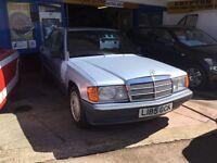 Mercedes 190e manual service history 1.8 petrol