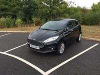 2013 FORD FIESTA 1.6 AUTOMATIC TITANIUM P/SHIFT ONLY 27000 MILEAGE