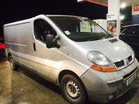 55 plate lwb Renault trafic tax and mot