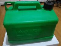 Plastic Petrol Can Green, Unleaded 5 litre £2.00