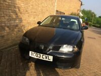 Seat Ibiza 1.2 spares, repairs MOT until 1 June 2018.