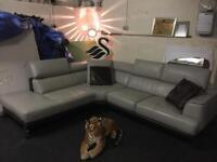 Dfs stage leather corner sofa