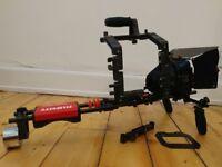 Filmcity shoulder rig for DSLR / scorpion rig