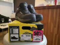 ladies safety shoes dunlop