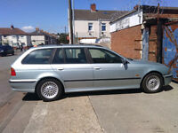 bmw 523i touring for sale as spares or repair