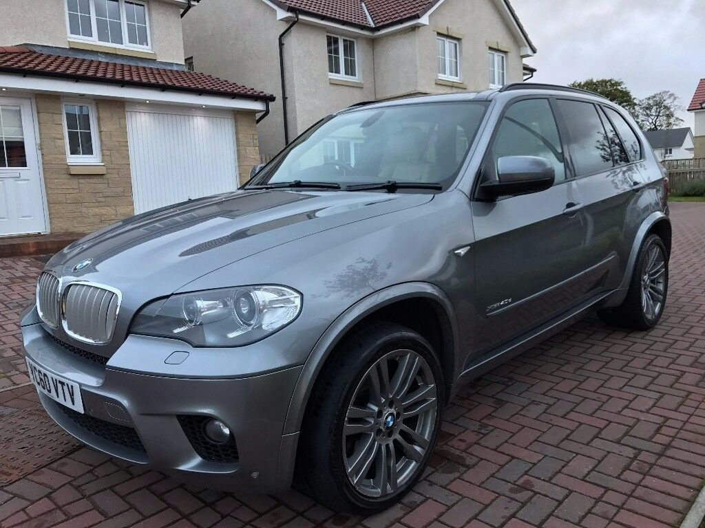 BMW X5 40d xDRIVE M SPORT AUTO, FBMWSH, NAV, 7 SEATS, OYSTER LEATHER, HUGE SPEC