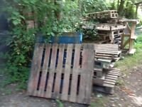 Wooden Pallets from Self Build Project