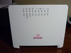 Plusnet Broadband Router and cables (Sagecom 2704N model)