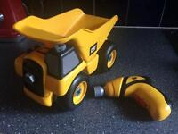 CAT tip-up truck £10