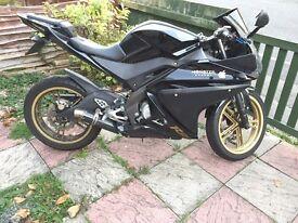 2011 Yamaha YZF R125