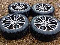 Range Rover - Black - Diamond Turned - Alloy Wheels 275/45/21 - Windsor Berkshire