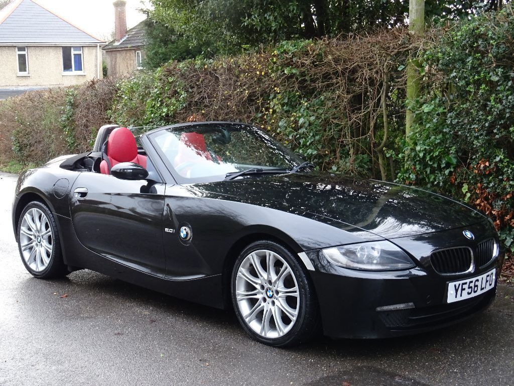 2006 56 bmw z4 2 0 i sport 2dr m sport red heated leather interior in poole dorset gumtree. Black Bedroom Furniture Sets. Home Design Ideas