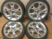 "17"" ford zetec s alloys,★ swap for spares or repair car★"