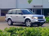 !!!MY TOP SPEC 2006 RANGE SPORT///SAT-NAV///LEATHER///PARKING///CAMBELT REPLACE///ONE OWNER!!!