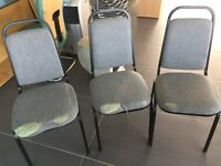 slightly damaged chairs