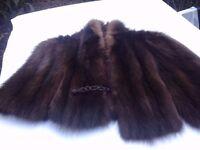 *CHARITY SALE* Vintage fur shawl / stole (15)