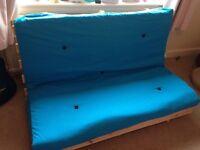 Lovely turquoise futon