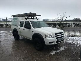 Ford Ranger 2.5td White Double Cab 59 plate