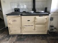Aga (2 oven) Oil & Water heater