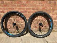 DMB Double wall rim 27.5 (650b) wheel set with tyres and tubes