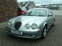 2001 51 Jaguar S-TYPE 3.0 auto V6 SE ** 71400 MILES ** MOT MAY 2019 **