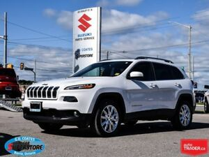 2016 Jeep Cherokee Limited 4x4 ~Nav ~Backup Cam ~Panoramic Roof