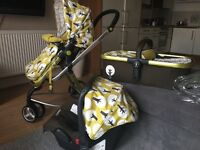 Pushchair Cosatto 3 in 1 travel system