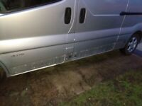 Van panels stolen 20 January