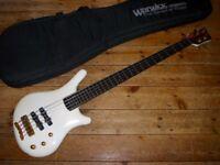 Warwick NT 5 Thumb bass 1986 with Delano pickups and Glockenlang preamp