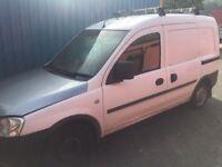 Spares or repair Vauxhall combo van