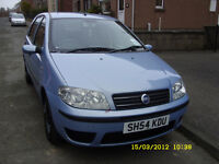 12 month MOT Fiat Punto Automatic....cheap insurance..best price on automatic car around!!!