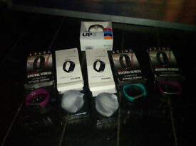 Job Lot Fit Band Watches inc Jawbone Up3