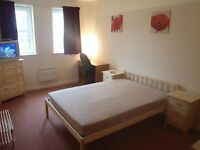 LARGE DOUBLE ROOM TO LET IN A NICELY FURNISHED 2 BEDROOM APARTMENT INC. BILLS CLOSE TO OXFORD RD