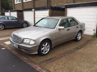 MERCEDES-BENZ C CLASS C240 2.4 V6 Automatic.. Genuine Low Miles..Drives perfect!