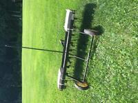 Lawn dethatcher, lawn rake