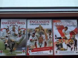 England Rugby DVDs