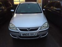 2005 VAUXHALL CORSA 1.2 WITH MOT IN EXCELLENT CONDITION