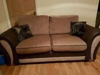 Two Quality 3 seater sofas
