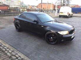 BMW 1 series coupe SE 120