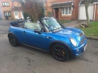 2008 08 MINI Convertible 1.6 Cooper S 2dr FULLY LOADED, F/S/H, 12 M WARRANTY AND BREAKDOWN COVER