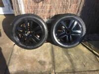 Vauxhall Astra SXI/SRI Gloss Black Alloys