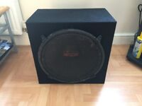 Earthquake 15 Subwoofer and new MDF box