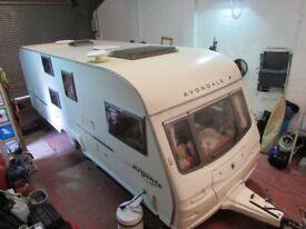Avondale Argente 640 Twin Axle 6 Berth Touring Caravan 2005