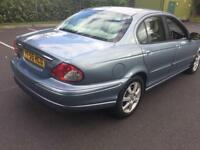 Jaguar X-Type 2.0 D Classic 4dr 2005 85K + 12 months test + LOW MILEAGE + superb condition