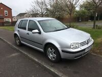 2003 Vw golf tdi 5 door hatch. Diesel. 12 months mot. Cd. Alloys. Loads of history! £795