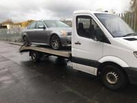 56 Reg Mercedes 311 LWB recovery truck. MAY PX OR SWAP